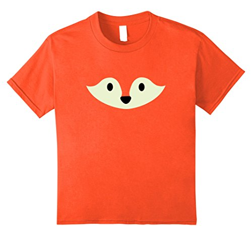 Kids Fox Halloween Shirt Cute Funny Animal Costume for Kids Adult 12 Orange (Cute Animal Halloween Costumes Ideas)