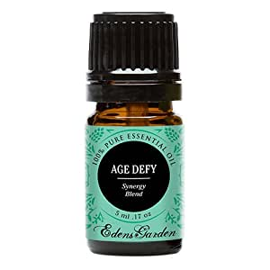 Age Defy Synergy Blend Essential Oil by Edens Garden- 5 ml (Comparable to DoTerra's Immortelle Anti-Aging Blend)