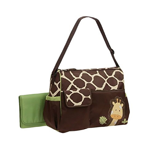 Giraffe Print Mummy Diaper Bag