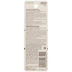 Maybelline Makeup Instant Age Rewind Concealer Dark Circle Eraser Concealer, Brightener, 0.2 fl oz