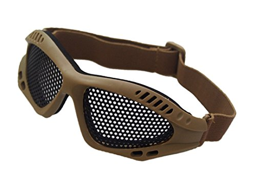 Ourdoor CS Airsoft Tactical Wrie Mesh Goggles with Adjustabl