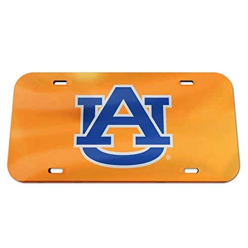 - Auburn Tigers Logo Crystal Mirror License Plate