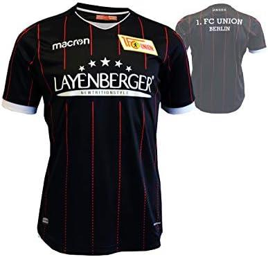 FC Union Berlin Niños Camiseta de fútbol Negro 17/18 FCU Away Jersey