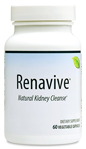 Renavive - Kidney Stone Cleanse (3 Bottles) | Kidney Stones Made Easy | Fast Relief | Dissolve Kidney Stones | Protect Against Kidney Stones | Join Thousands of Users! 60 Vegetable Capsules (Best Way To Prevent Kidney Stones)