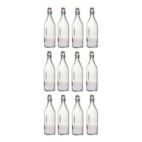 Bormioli Rocco 10'' swing bottle, 17 ounces, 12 PACK. by Bormioli Rocco