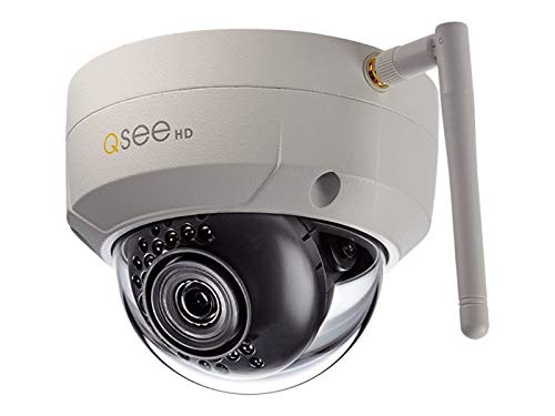 (Q-See QCW3MP1D - Network Surveillance Camera - Outdoor - Weatherproof - Color (Day&Night) - 3.6mm Lens - 3 MP - 2304 X 1536 - Wi-Fi - White)