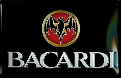 Diseño de Bacardi Nostalgia cartel Ron murciélago horizontal ...