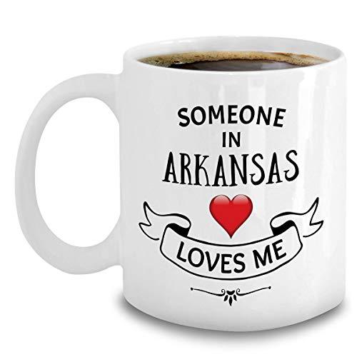 Arkansas State Mug Someone In Arkansas Loves Me