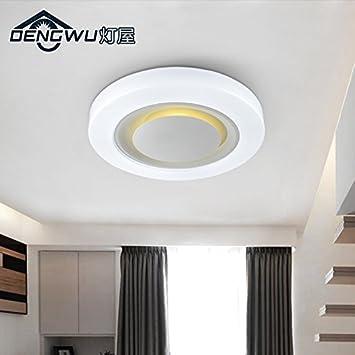 Nordeuropa Warme Decke Schlafzimmer Wohnzimmer Ideen Studie Halle Balkon  Runden LED Deckenleuchte 480*75mm