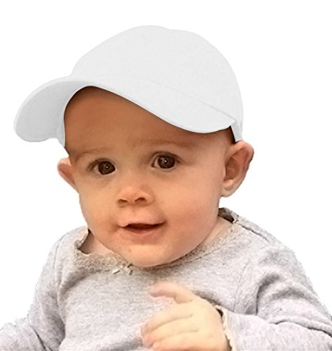 TopHeadwear Infant Cargo Baseball Hat - White -
