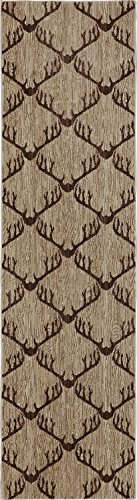 - Mohawk Home ARC Dryden Laredo Woven Rug, 2'1x7'10, Light Camel