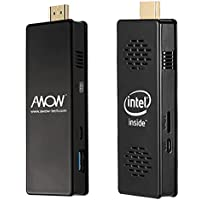 AWOW Windows 10 2GB Compute Stick Mini PC - ( Intel Atom Quad Core 1.44GHz 2GB RAM 32GB eMMC WiFi 2.4G Bluetooth 4.0)