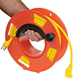 Bayco KW-110 Cord Storage Reel with Center Spin