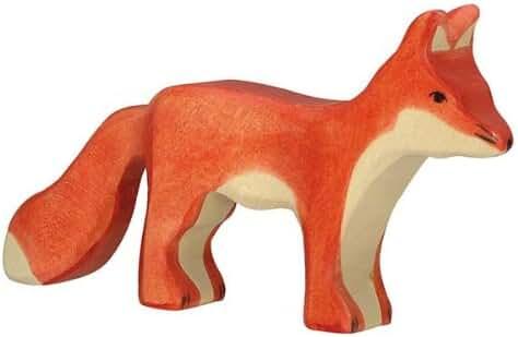 Holztiger Fox Standing Toy Figure
