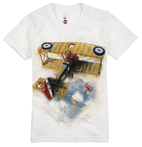Camel Flying Sopwith - Shirts That Go Little Boys' Sopwith Camel Airplane T-Shirt 4 White