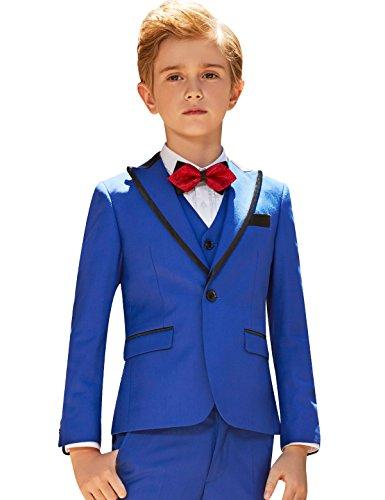 ELPA ELPA Boys Suits Slim Fit Formal Dress for Occasion Holiday Wedding