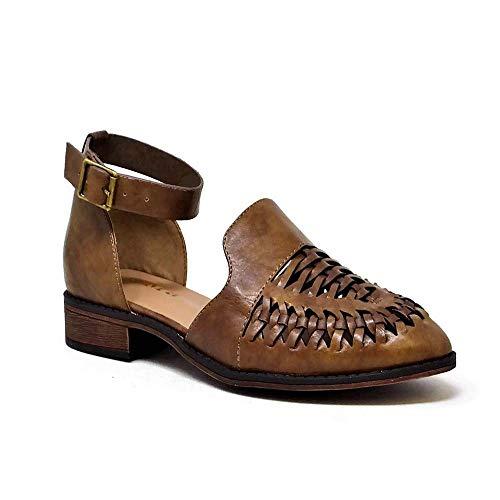 Sandalias Taupe Mata D'orsay Puntiagudas Tacón Shoes Con Bajo 5nUa1