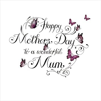 Tarjeta del Día de la Madre con estilo de tatuaje y texto «Happy ...