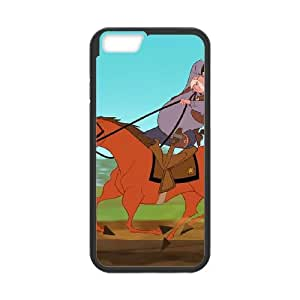 iPhone 6 4.7 Inch Cell Phone Case Black Disney Home on the Range Character Sam the Sheriff 005 KYS1066637KSL