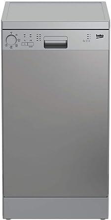 Beko DFS05013X - Lavavajilla Independiente 10 cubiertos A+, Acero ...