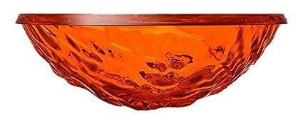 Confezione da 1 Pezzo Arancio Kartell Moon Centrotavola