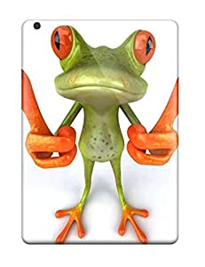 Everett L. Carrasquillo's Shop Anti-scratch Case Cover Protective 3d Frog Case For Ipad Air