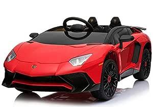 Bebouze Kids Lamborghini Licensed Ride On Car Red (SKU BB-0913)
