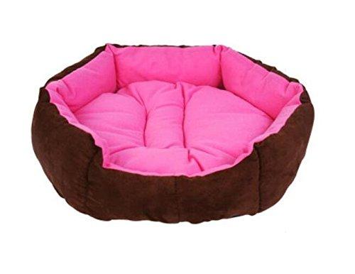 Sun Glower Coperta delle forniture dell'animale Cani e gatti lavabili Cuscino caldo Prodotti per animali rosa rosso S