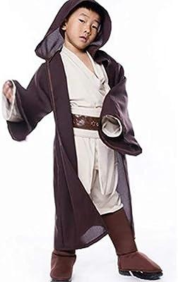 Lilalit Star Wars Niños Jedi OBI WAN Kenobi Cosplay Disfraz ...
