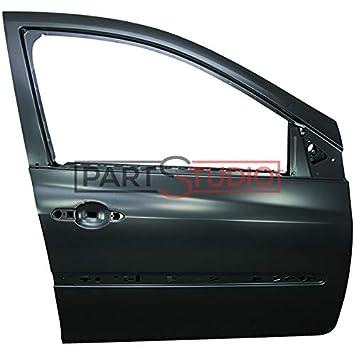 PIECES AUTO SERVICES Puerta Delantera Derecha Renault Clio 04/09=> para 5 Puertas
