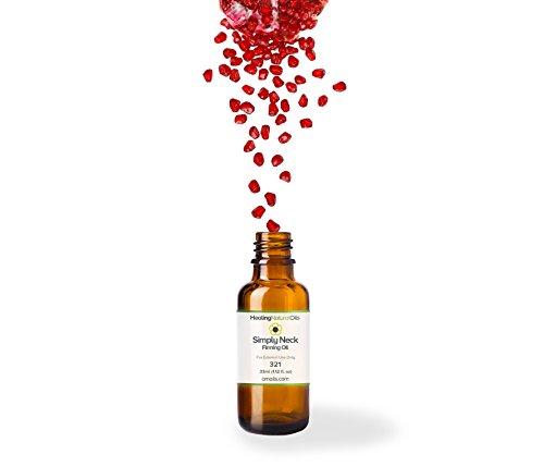 - Simply Neck Firming Oil - Neck and Decolletage Non-Greasy Formula - Neckline & Decollete Moisturizer - All Natural, No Additives, rich in Vitamin E, Vitamin C, essential fatty acids