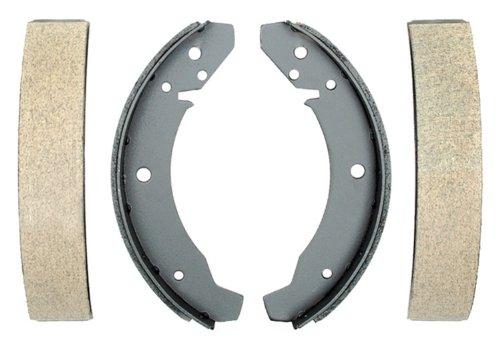 ACDelco 17315B Professional Bonded Rear Drum Brake Shoe Set
