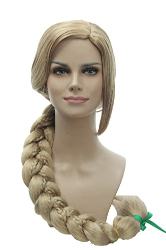 Weave Wigs Extra Long Blonde Braids Costume Wig for Women