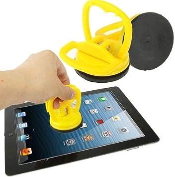 3 Repair-Kits Super Suction Tablet PC//Notebook Demolished Screen Sucker Tool for iPad 4 iPad Mini 1//2 Color : Yellow Diameter 5.7cm New iPad//iPad//iMac