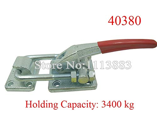 Ochoos Heavy Duty Super Large Holding Force Latch Type Toggle Clamp 40380 3400KG 7502LBS Holding Capacity