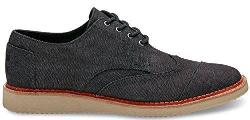 Men's Toms 'Classic Brogue' Cotton Twill Oxford, Size 8 M -