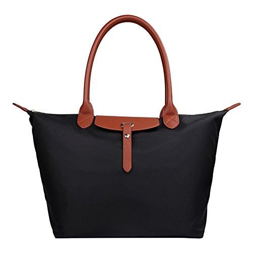 Waterproof Women's Hobo Black Sep Bags Sunny Handbag Beach Tote Large Nylon Travel Shoulder Stylish CBntfgf4q