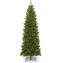 North Valley Spruce Pencil Slim Artificial Christmas Tree