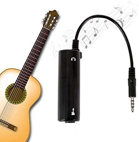 WOVELOT Interfaz de Guitarra Convertidor de Irig Guitarra de Repuesto Para Tel/éfono Nuevo.