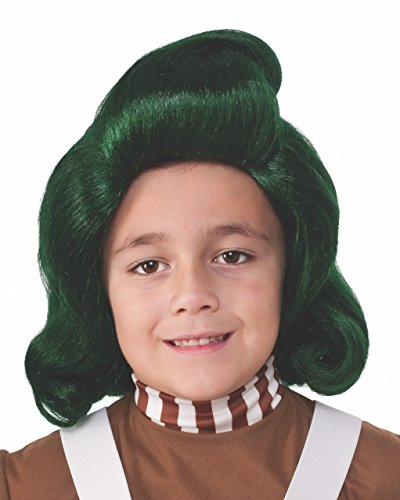 [Rubie's Costume Kids Willy Wonka & The Chocolate Factory Oompa Loompa Wig] (Willy Wonka Costume Accessories)
