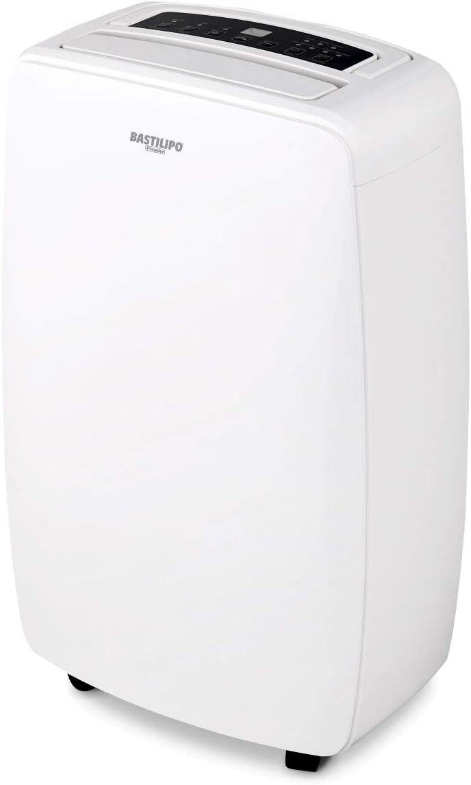 Bastilipo DE-16-260 Deshumidificador 16 litros, 260 W, 47 Decibeles, Plástico, Blanco