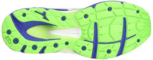 Wave 3 Web The Mizuno Surf de Green Running Paradox Chaussures Silver Homme Compétition Bleu Gecko qCZwpdE