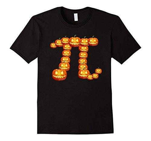 Mens Funny Halloween Pumpkin Clever T-Shirt Large Black