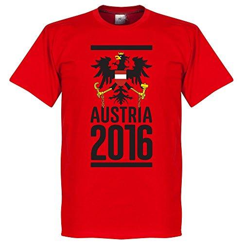 Austria 2016 T-Shirt - Rosso