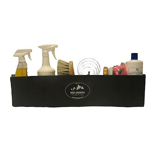 "Brush Box 25""-Black, Black"