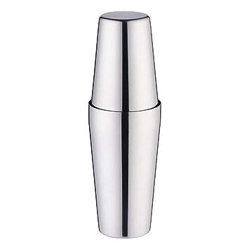 Coctelera de acero inoxidable Boston Shaker Tins Bar Vino mezclador herramienta bebida Shaker 750 ml + 600 ml
