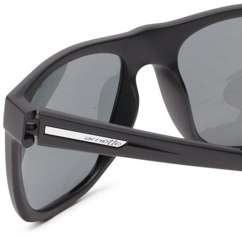 Drill Arnette sol Gafas Matte Black de Rectangulares Fire 58 gwq1wp