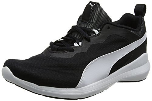 Puma Unisex Adults' Pacer Evo Low-Top Sneakers, Multicoloured Black (Puma Black-puma White 01)