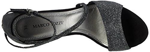 Marco Tozzi 28316 - Sandalias de tobillo Mujer Negro - Schwarz (BLACK COMB 098)
