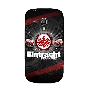 Eintracht Frankfurt Football Club Phone Case Creative Design 3D Eintracht Frankfurt Logo Plastic Cell Phone Case for Samsung Galaxy S3 Mini
